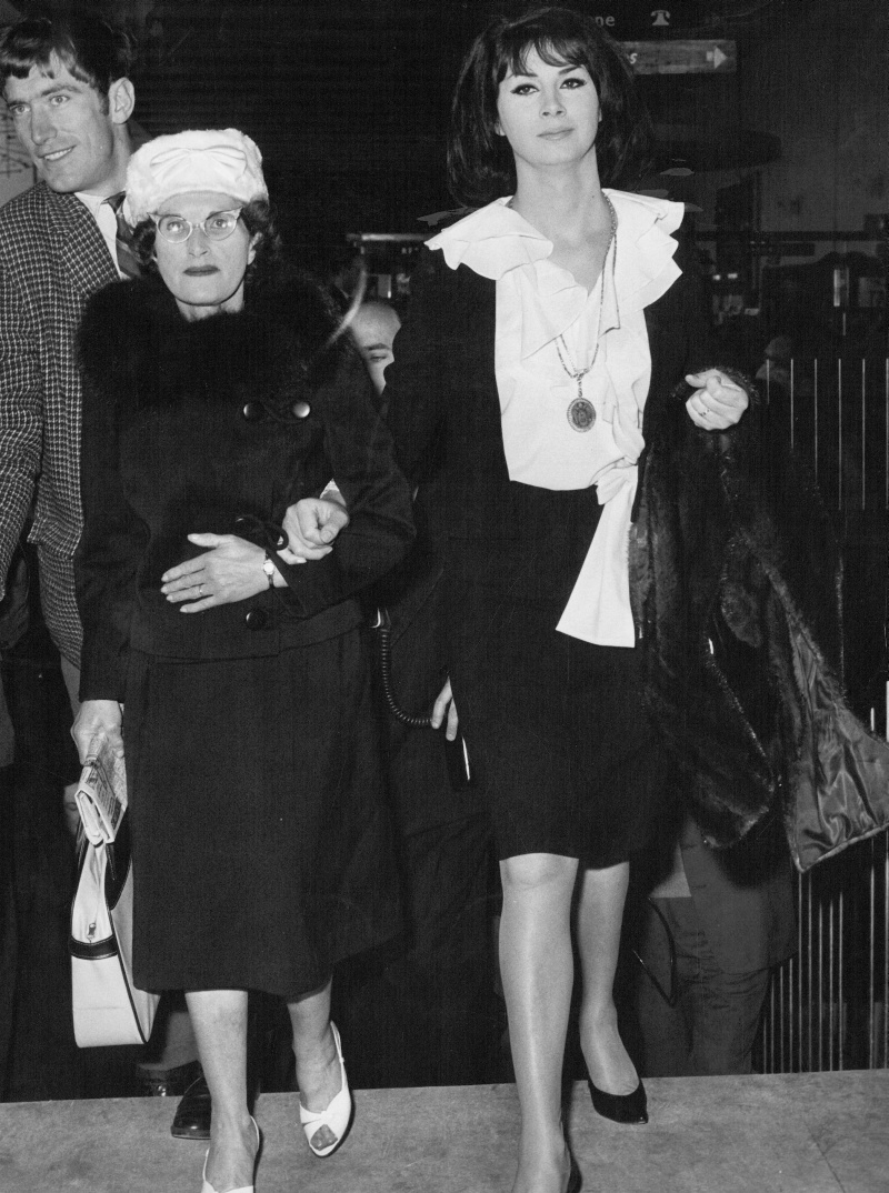 April Ashley and Her Mother 1962 London