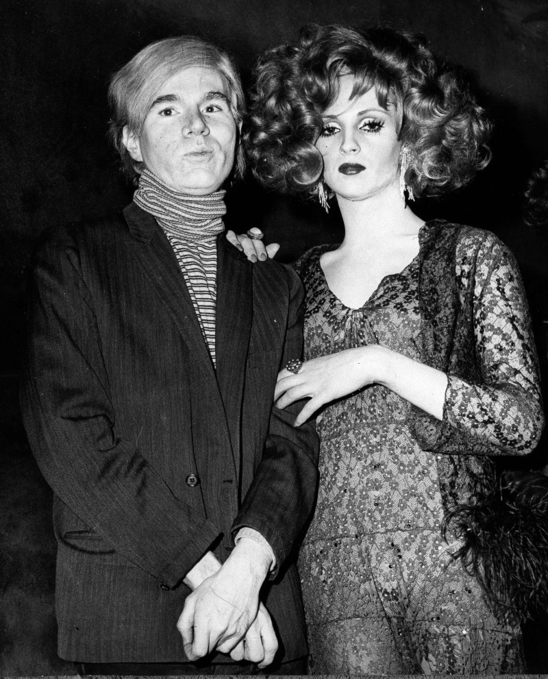 Candy Darling and Andy Warhol, Manhattan Theatre, 1969