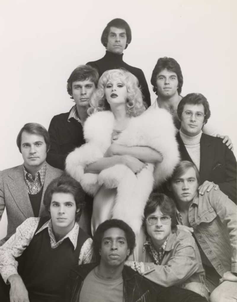 Candy Darling and the Cast of Play The White Whore and the Bit Player by Roy Blakey