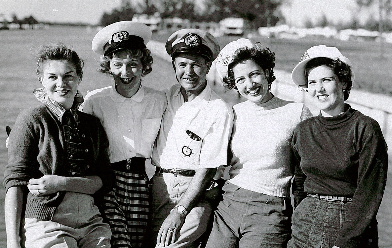 Christine Jorgensen rare slide 1954