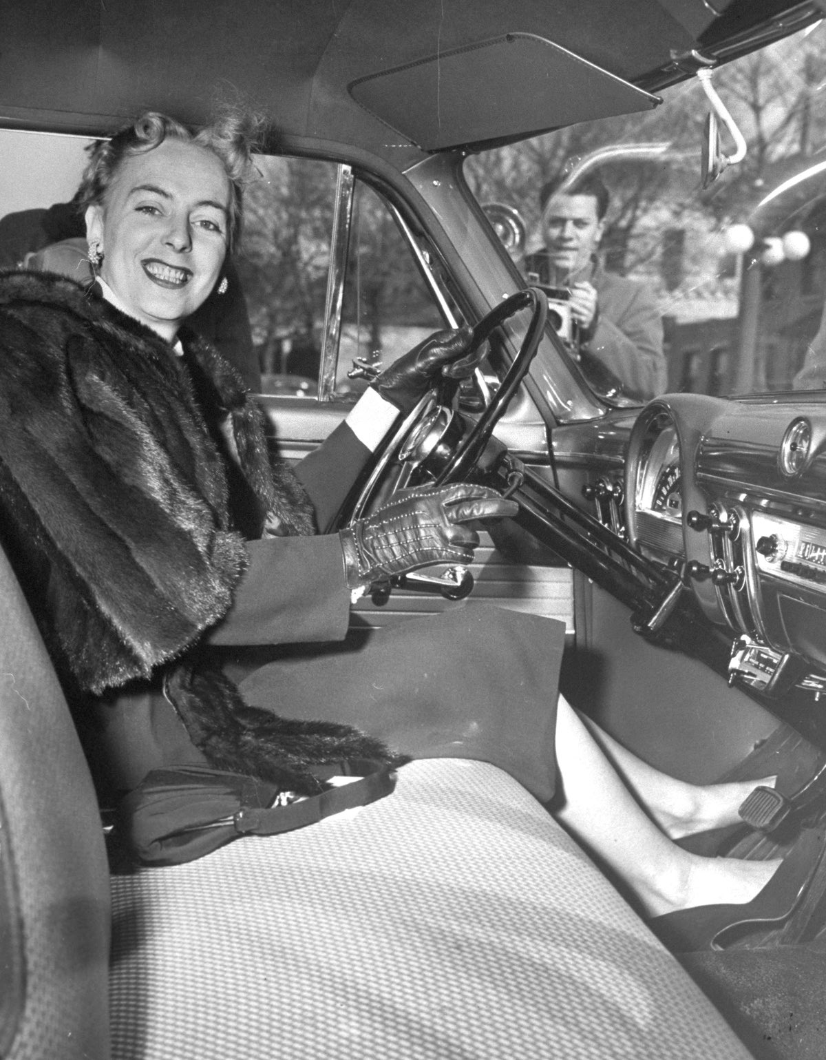 Christine Jorgensen Driving Exam