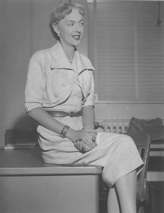 Christine Jorgensen at the Kinsey Institute