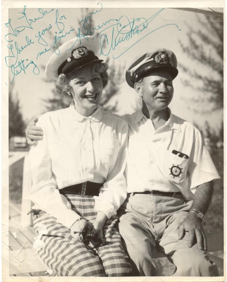 Christine Jorgensen - Personal Photograph with Frank
