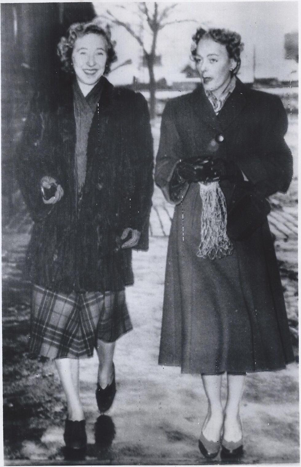 Christine Jorgensen and Friend