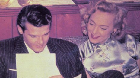 Christine Jorgensen and Roger Moore