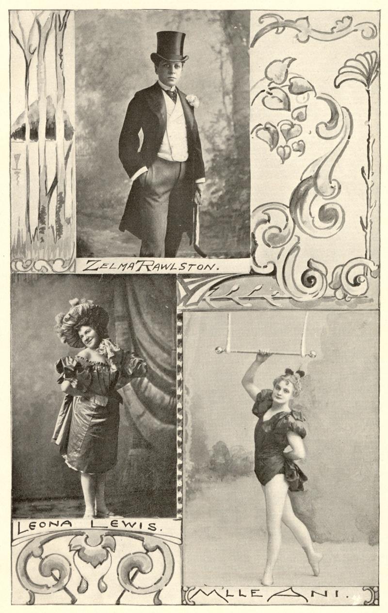 Zelma Rawlston, 1897