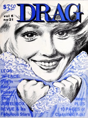 Drag Magazine, Volume 6, Issue 21, 1975