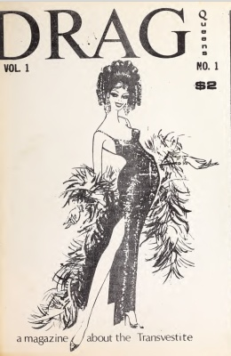 Drag Queens Magazine, Volume 1, Issue 1, 1970