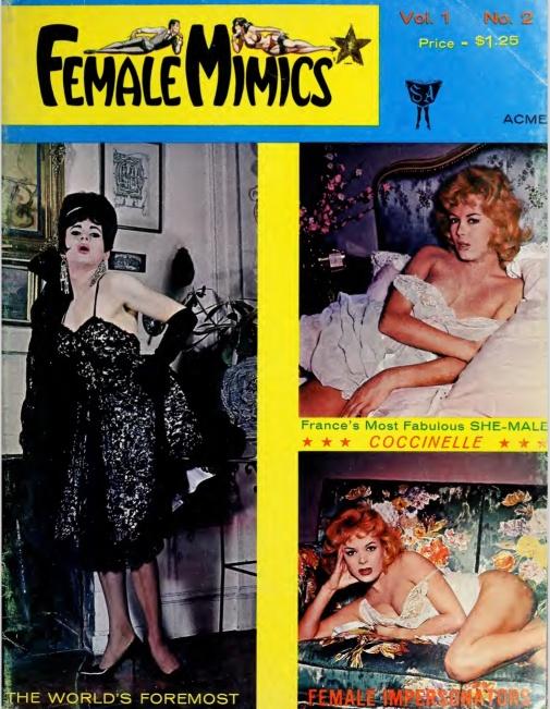 Female Mimics 1 2 1963