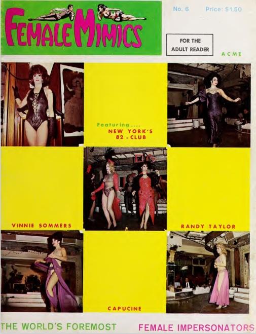 Female Mimics 1 6 1965