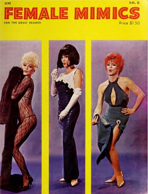 Female Mimics 1 8 1966