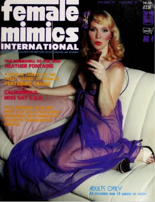 Female Mimics International 1980