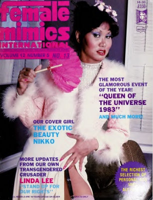 Female Mimics International 1982