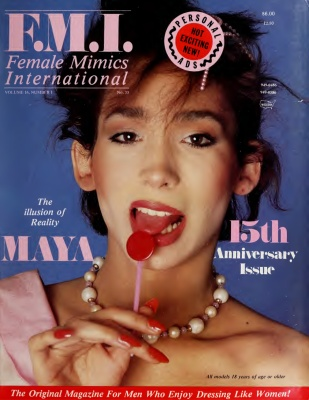Female Mimics International 1986