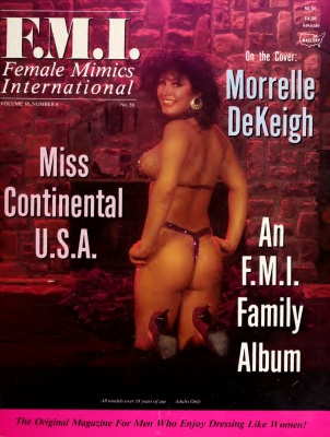 Female Mimics International 1989