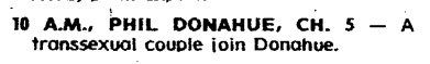Phil Donohue