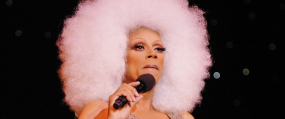Rupaul Performs